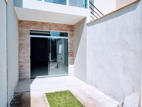 Casa Geminada Com 2 Quartos Para Comprar No Vale Das Orquídeas Em Contagem/mg - Rrs2415