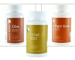 4 Productos Power Golden Obs, Nigth, Hilat Y Te Verde