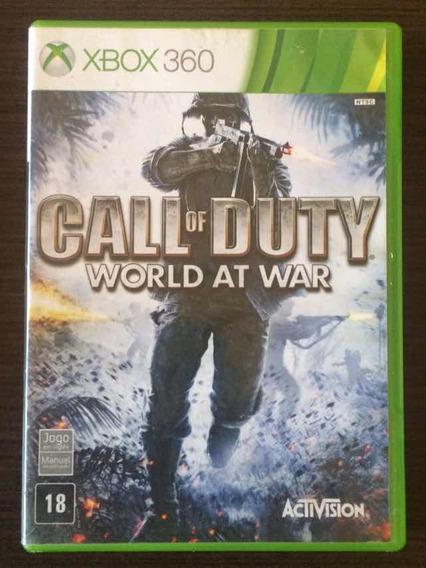 Jogo Call Of Duty World At War - Xbox 360 (mídia Física)