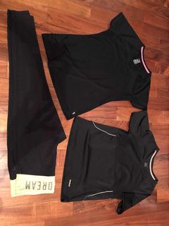 Ropa Deportiva Mujer M L Leggings Mallones Camisa Reebook
