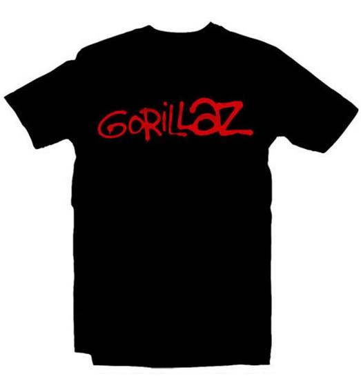 Playeras Gorillaz - 18 Modelos Disponibles