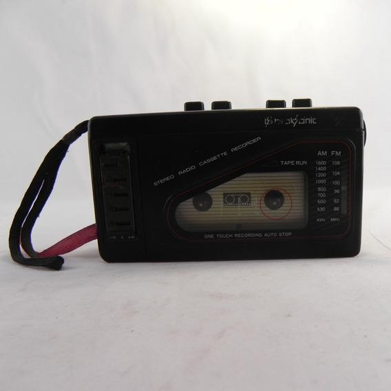 Rádio Gravador De Fitas Broksonic Tsg 45 - Usado C/ Defeito