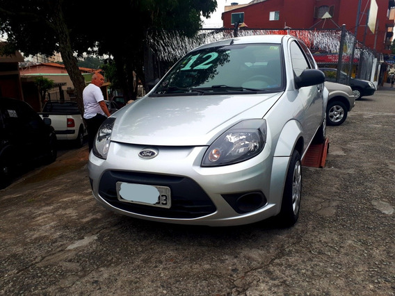 Ford Ka 1.0 - 2012 - Prata - Com 58.000km