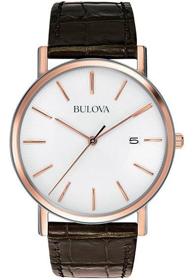 Relógio Bulova Masculino Analógico Wb21150b