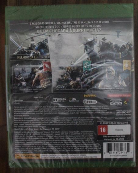 For Honor Xbox One Midia Fisica Novo Lacrado