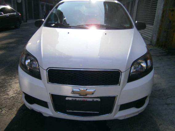 Chevrolet Aveo 2014 Blanco 1.6 Ls L4/ At