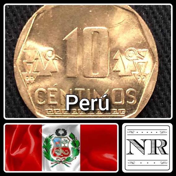 Peru - 10 Centimos - Año 2016 - Km # 305