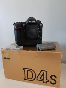 Câmera Nikon D4s Na Cx + 2 Cartões Xqd 64gb 180 Mbs
