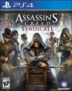 Assassins Creed Syndicate Ps4 Digital | Jugas Con Tu Usuario