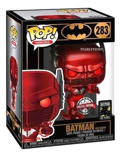 Funko Pop Batman Red Death 283 Special Edition Scarlet Kids