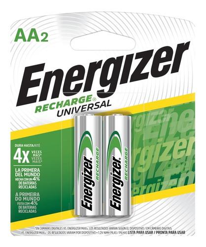 Imagen 1 de 1 de 10x Pilas Recargables Energizer Aa 2000 Mah Blister X10
