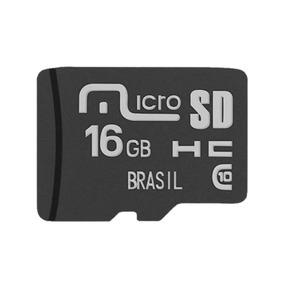 Cartão De Memória Multilaser 16 Gb Micro Sdhc Classe 10