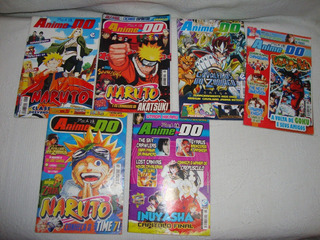 Lote Com 6 Revistas Anime Do (leia)