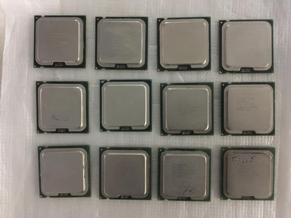 12 Processador Intel Dual-core Pentium Celeron Soq. 775
