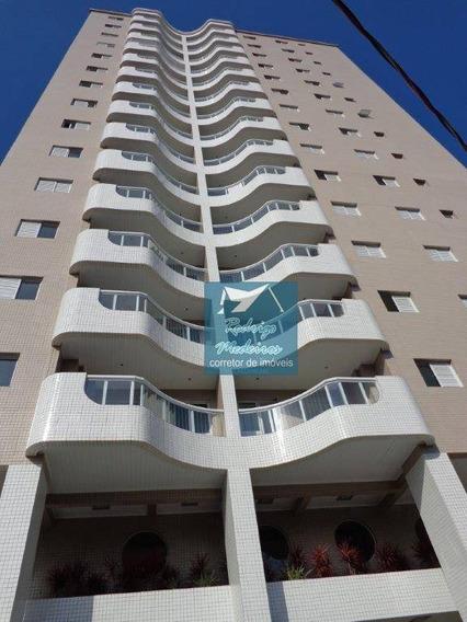 Excelente Apartamento 2 Dormitórios Mobiliado Em Praia Grande - Ap0420