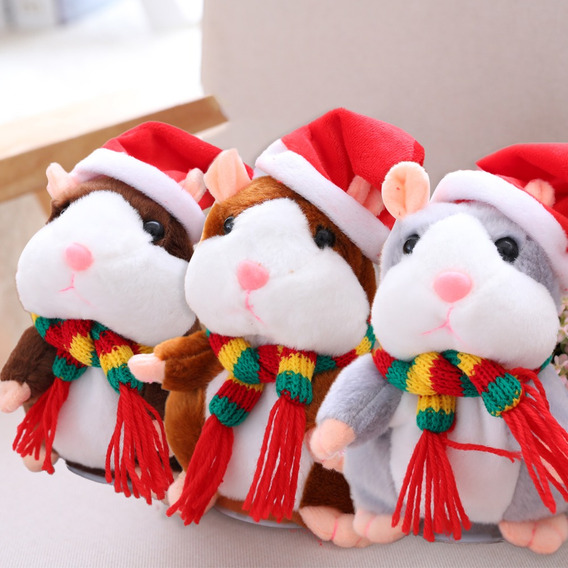 Eltrico Inteligente Falando Pouco Hamster Recorde Repeti??