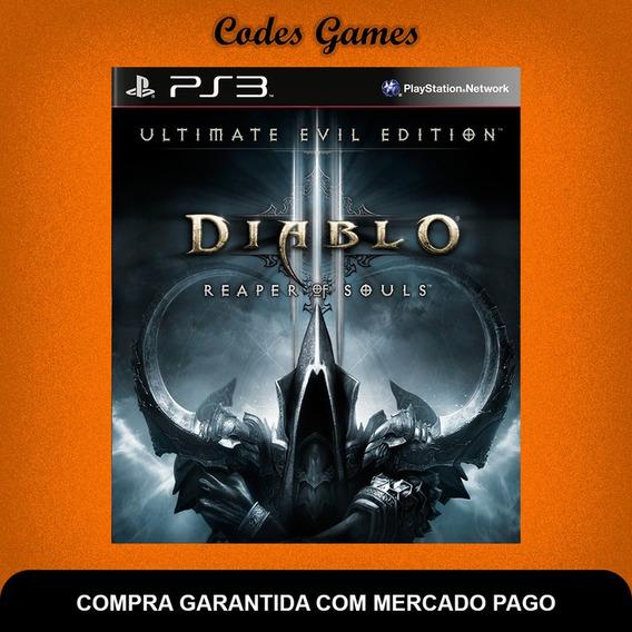 Diablo Iii Reaper Of Souls - Ultimate Evil Editionps3
