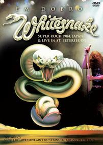 Dvd Whitesnake Em Dobro. Japan 1984 E Russia 1994