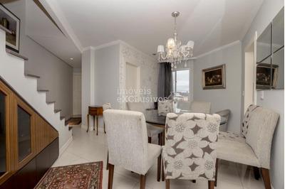 Cobertura Com 2 Dormitórios Para Alugar, 127 M² Por R$ 3.000 - Água Verde - Curitiba/pr - Co0015