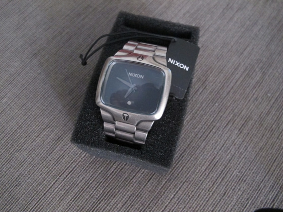 Relogio Nixon Player Antique Silver/black (original)