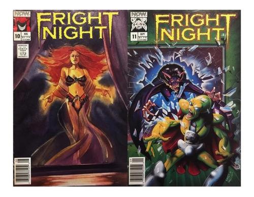 Fright Night #10-11 - Now Comics 1989 - La Hora Del Espanto