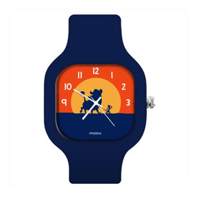 Relógio Troca Pulseira Personalizado Timão & Pumba