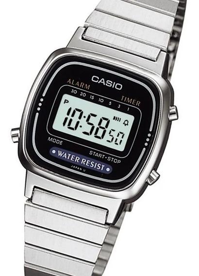 Relógio Casio La 670wa-1df Feminino Digital Fashion Original