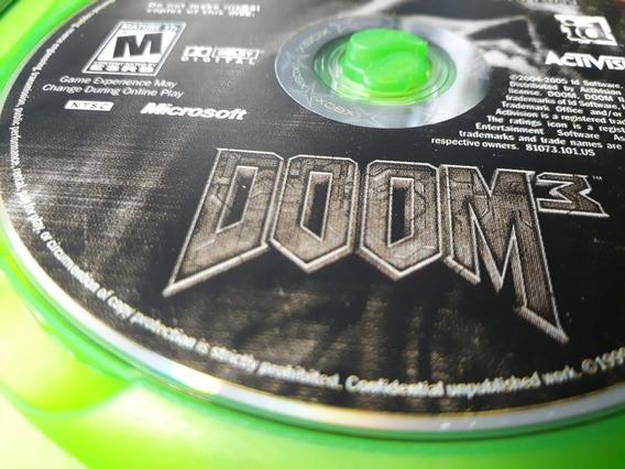 Jogo De Xbox 1 Doom3 Original Jsa