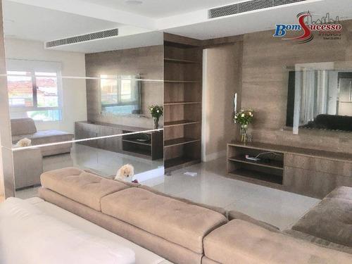 Imagem 1 de 30 de Apartamento Com 3 Dormitórios À Venda, 240 M² Por R$ 2.400.000,00 - Tatuapé - São Paulo/sp - Ap1814