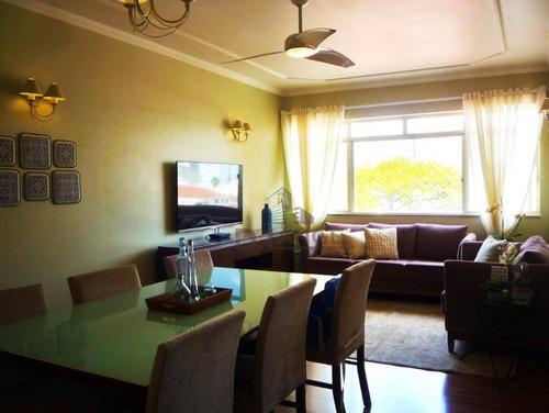 Imagem 1 de 17 de Apartamento Com 2 Dormitórios À Venda, 110 M² Por R$ 440.000 - Centro - Campinas/sp - Ap17659