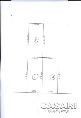 Imagem 1 de 2 de Terreno Residencial À Venda, Piraporinha, Diadema - Te3745. - Te3745
