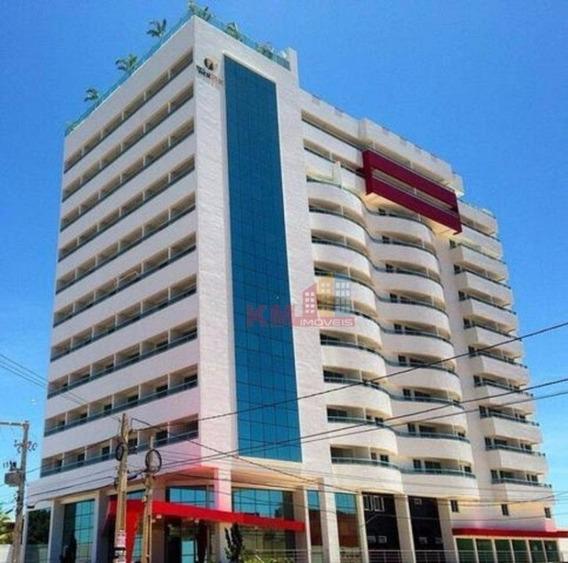 Vende-se Lindo Apartamento Mobiliado Tipo Studio No West Flat Mossoró - Fl0001