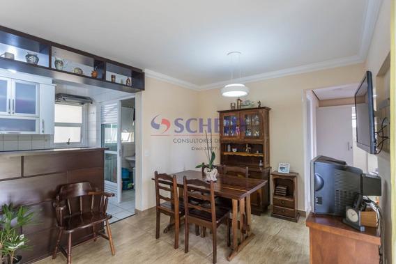 Apartamento Com Varanda E Armários Embtudos, Próximo Ao Supermercado St. Marche - Mr67983