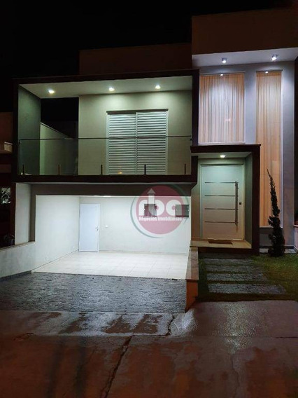 Casa Com 4 Dormitórios À Venda, 215 M² Por R$ 765.000 - Condomínio Villagio Milano - Sorocaba/sp - Ca1957