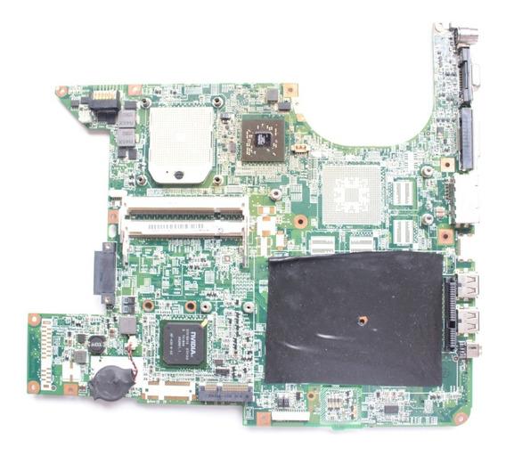 Placa Mãe Hp Dv6000 Processador Amd Da0at8mb8h6 Defeito