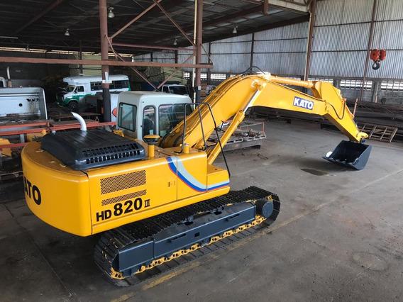 Excavadora Kato Modelo Hd820 Ii