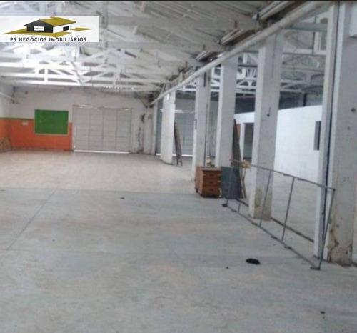 Imagem 1 de 19 de Galpão/pavilhão A Venda No Bairro Vila Monumento Em São - Comls544-1