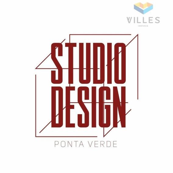Studio Residencial À Venda, Ponta Verde, Maceió. - St0002