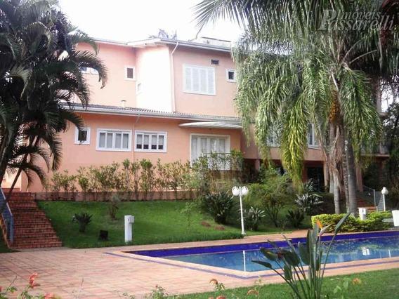 Casa Residencial À Venda, Condomínio Estância Marambaia, Vinhedo - Ca0421. - Ca0421