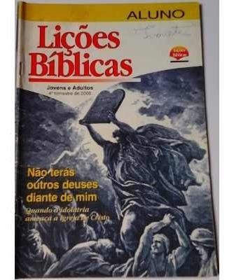 Revistas Lições Bíblicas Antigas Raridades/preç Unitário