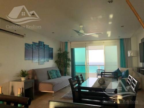 Departamento En Venta En Cancún/villas Marlin/ Zona Hotelera