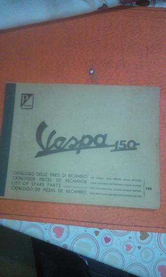 Vespa 1957/58antigua Vespa 57/58 150cc