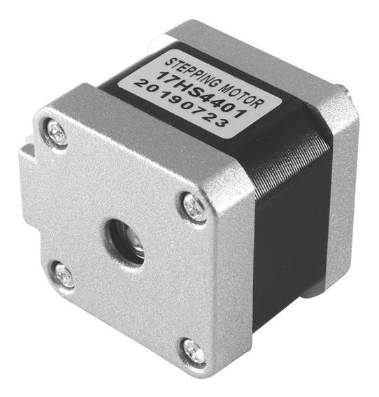 Motor De Passo Nema 17 Cnc 17hs4401 4,2kgf.cm 4,2kg Impresso