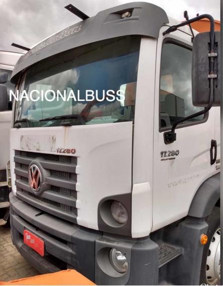 Caminhão Volkswagen 17280 Lavador De Container
