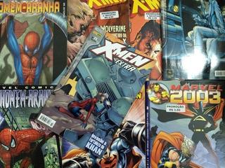 Lote X 8 Cómics - Marvel Y Dc - En Portugués