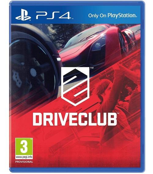 Driveclub - Ps4 - Mídia Física