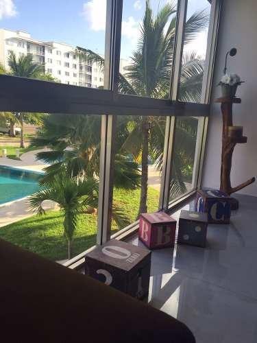 Renta Departamento En Cancun, Zona Exclusiva, Amueblada, Alb