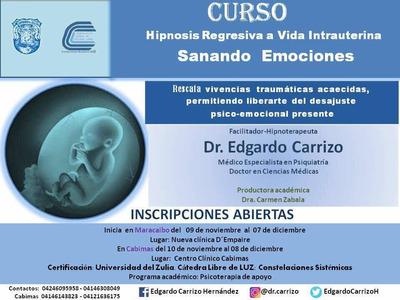 Curso Hipnosis Regresiva A Vida Intrauterina