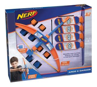 Nerf Arco Y Flecha Dardo Con Blanco Para Práctica Titanweb