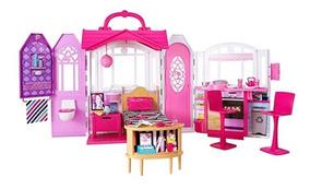 Barbie Casa De Férias Portátil - Mattel - Pronta Entrega